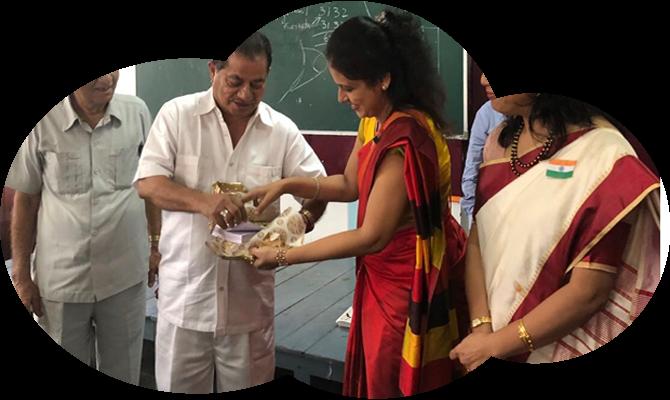 Dr. Vasudevan Pillai releases book on 'Value Embedded Life' authored by Director Dr. Sunita Jain on 15th August, 2018.